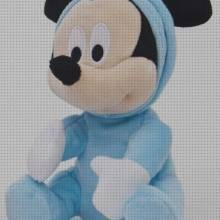 TOP 2 Peluches Mickey Bebes Celestes